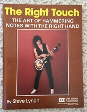 Vintage Rare The Right Touch, The Art of Hammering Notes Instruction Book