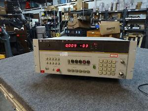 HP Agilent Keysight 8901A Modulation Analyzer 150 kHz-1300 MHz Opt 010