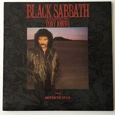 Black Sabbath Seventh Star Tony Iommi 1st Us Press Warner Bros Lp Excellent Copy