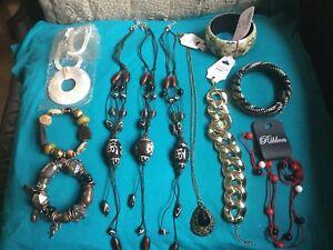 Joblot Of Jewellery Bracelets And Necklaces