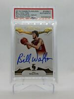2018 Panini Flawless Bill Walton Auto Gold 10/10 Hard Signed PSA DNA Authentic