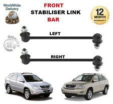 FOR LEXUS RX 300 400 350 450 2003-->ON FRONT LEFT + RIGHT STABILISER LINK BARS