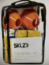 Sklz 10-Man Flag Football Deluxe Set w/ Flags & Cones, New In Package