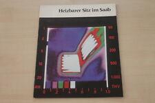 178366) Saab - Sitzheizung - Prospekt 197?