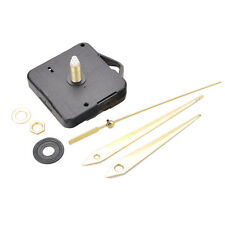 Quartz Wall Movement Clock Mechanism DIY Repair Part Set 10mm Spindle Long Hands