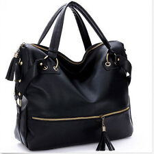 Fashion Handbag Lady Shoulder Bag Tote Purse Faux Leather Women Messenger F&F