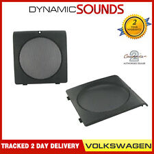 CT25VW11 130mm 13cm Front Door Speaker Adaptors Pods For VW Golf 1983-1992