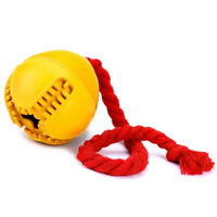 Dog Jolly Ball ,Ball Rubber Chewing Interactive Dog Toy Super Tough Tooth C V7I4