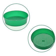 3-3.5mm Plastic Garden Sieve Soil Sifter Compost Aerator Filter Gardening Tools