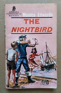 The Nightbird by Monica Edwards (Armada Paperback, 1963).