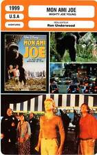 FICHE CINEMA : MON AMI JOE - Paxton,Theron,Firth,Andrews 1999 Might Joe Young