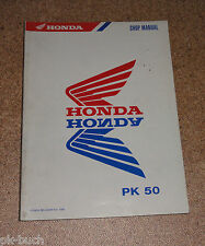 Werkstatthandbuch Honda PK 50 Stand 1990