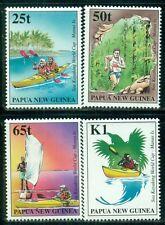 PAPUA NEW GUINEA 948-51 SG845-48 MNH 1998 Sea Kayaking set of 4 Cat$5