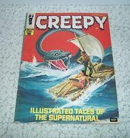 Creepy Magazine #18, NM+ 9.6 Warren Publ. 1967 Vic Prezio Cover Silver Age