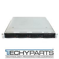 Supermicro CSE-815TQ-600WB X9DRW-3F Motherboard 600W P/S 1U Server Barebone CTO