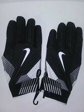 Nike D-Tack 5 Nfl Pe Padded Lineman Gloves 4Xl Elite Black