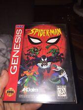 Spider-Man: The Animated Series (Sega Genesis, 1995) Authentic Complete - Rare