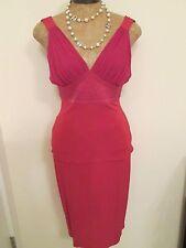NWT Yigal-Azrouel Top and Skirt ensemble in Dark Pink Fushia Size 1 & 3