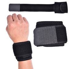 Weight Lifting Bar Straps Gym Bodybuilding Wrist Support Wraps Bandage Knee Wrap