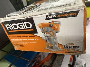 BRAND New in Box RIDGID 18V Cordless Brushless Compact Router TOOL ONLY R86044B