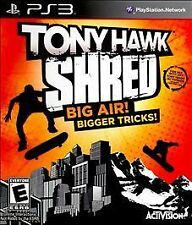 PlayStation 3 Tony Hawk: Shred Stand-Alone Software VideoGames