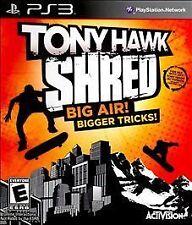 Tony Hawk: Shred (Sony PlayStation 3, PS3) - BRAND NEW
