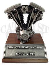 Harley Davidson Motor Statue HD Motor Model Shovelhead Engine Statue