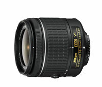 Nikon 18-55mm f/3.5-5.6G VR AF-P DX NIKKOR Zoom Lens White BOX - NEW