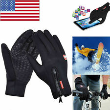 Winter Sports Warm Gloves Windproof Waterproof Touch Screen Mittens Unisex Usa