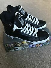 BRITISH KNIGHTS TRENDY ATOLL HI TOP BASEBALL SNEAKERS TRAINERS ANKLE BOOTS UK 6