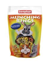 BEAPHAR MUNCHING RINGS Treats Rabbit Guinea Pig Hamster Chinchilla Small Animal