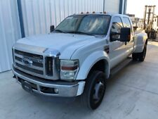 2008 FORD F450 CREW CAB 4WD THEFT RECOVERY (MISSING ENGINE) SALVAGE REBUILDABLE