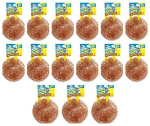 15 Chore Boy 100% Pure Copper Scrubbers, Won't Rust, for Pots and Pans!