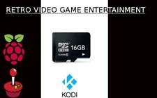 16GB RETRO VIDEO GAME MICRO SD CLASS 10 SDHC COMPATIBLE RETROPIE & KODI
