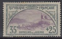 FRANCE : ORPHELIN N° 152 NEUF * GOMME AVEC CHARNIERE - A VOIR - COTE 190 €