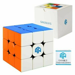 2020 GAN 356 RS Top Speed Magic Cube Stickerless Twist Puzzle Cube Gan356 R Toys