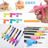 3PCS/SET Kids Pencil Holder Pen Writing Useful Aid Grip Posture Correction Tool