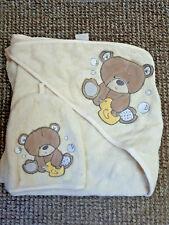 Mothercare cuddle dry teddy bear towel and mitt