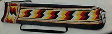 Native American Patchwork WIND Ballstick Stick Ball BAG Case Holder HandMade New