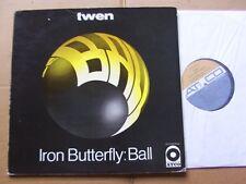 IRON BUTTERFLY,BALL lp vg+/vg(-) (Twen-Ausgabe) atco rec. SD33-280 Germany 1969
