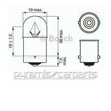 Nuevo 1x10set Bosch 1987302510 Truck bombilla 24v 5w casquillo ba15s ($22,95/set)