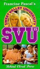 Very Good, Behind Closed Doors (Sweet Valley University), John, Laurie, Book