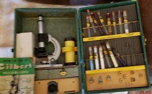 Gilbert  Children Chemistry Set With Microscope