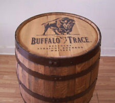 Whiskey Barrel Buffalo Trace Sanded and Finished-FREE SHIPPING