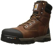 Carhartt Men's 8-Inch Brown Waterproof Composite Toe Work Boot - CME8355