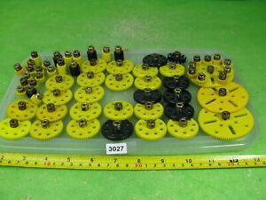 vintage meccano plastic gears etc mixed lot construction toy 3027