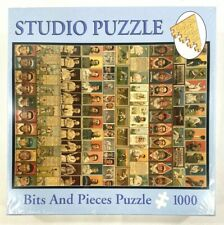 """Bits and Pieces 1000 Piece Studio Puzzle Oldtime Baseball NEW 20"""" X 27"""" SEALED"""