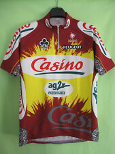 Maillot cycliste Casino Ag2r Tour 1998 Colnago vintage jersey Cycling - 4 / L
