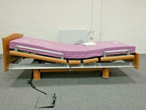 Bakare Volker 3080 Electric Profiling Nursing Bed + Medi-Pro Mattress - coll.S41