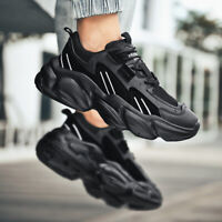 Men's Trendy Running Sneakers Outdoor Casual Walking Sports Shoes Gym Jogging